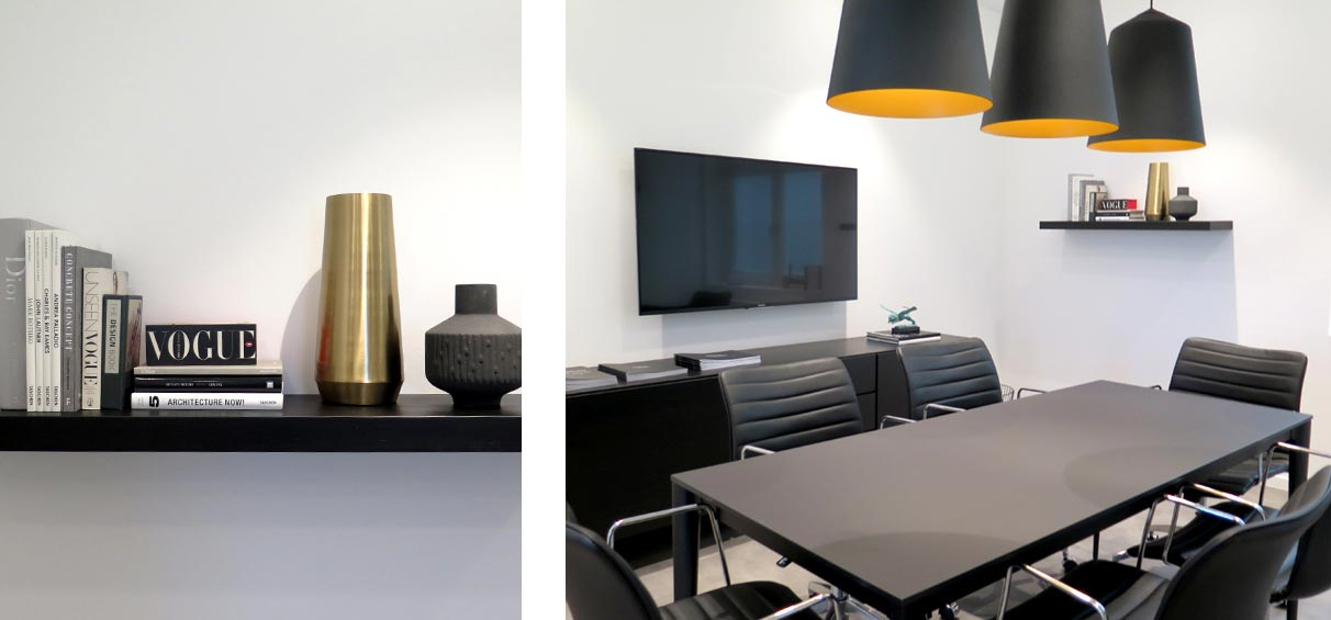 office meeting room styling office interior stylist London